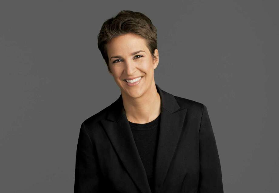 "This image released by NBC shows Rachel Maddow, host of ""The Rachel Maddow Show,"" on MSNBC. (MSNBC via AP) Photo: HONS / Stratford Booster Club"
