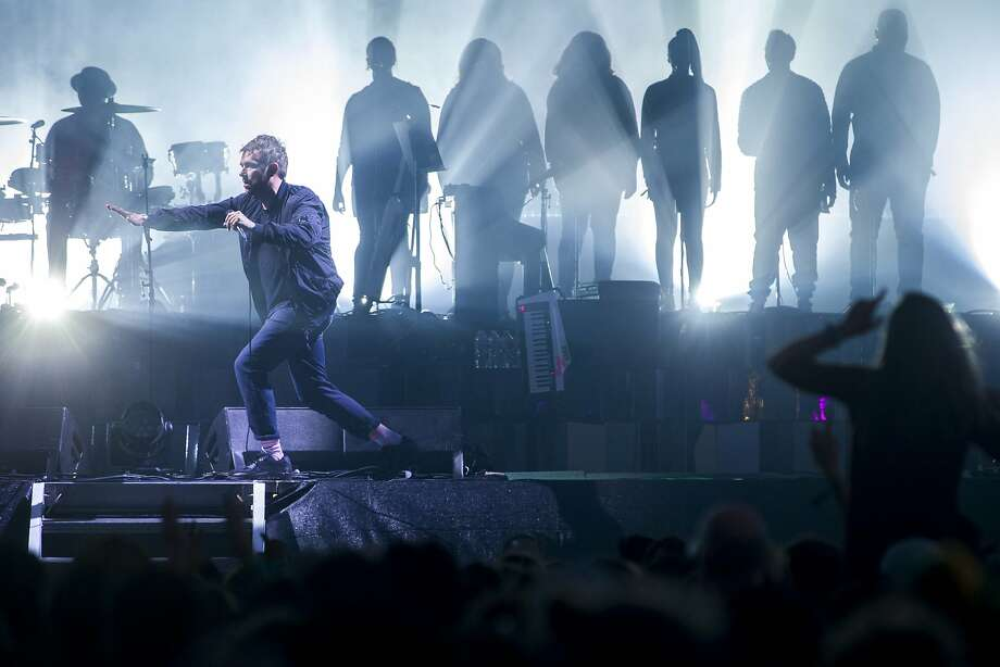 Damon Albarn of the Gorillaz performs during the Outside Lands music festival at Golden Gate Park on Friday, Aug. 11, 2017, in San Francisco, Calif. Photo: Santiago Mejia, The Chronicle