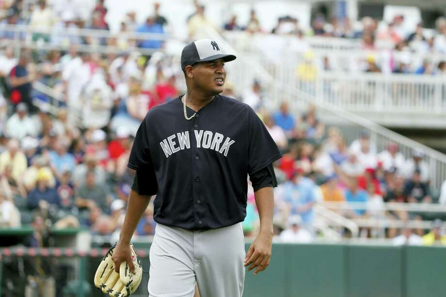 Ivan Nova, shown here earlier in spring training, surrendered three home runs in a loss to the Orioles on Friday. Photo: The Associated Press File Photo  / AP