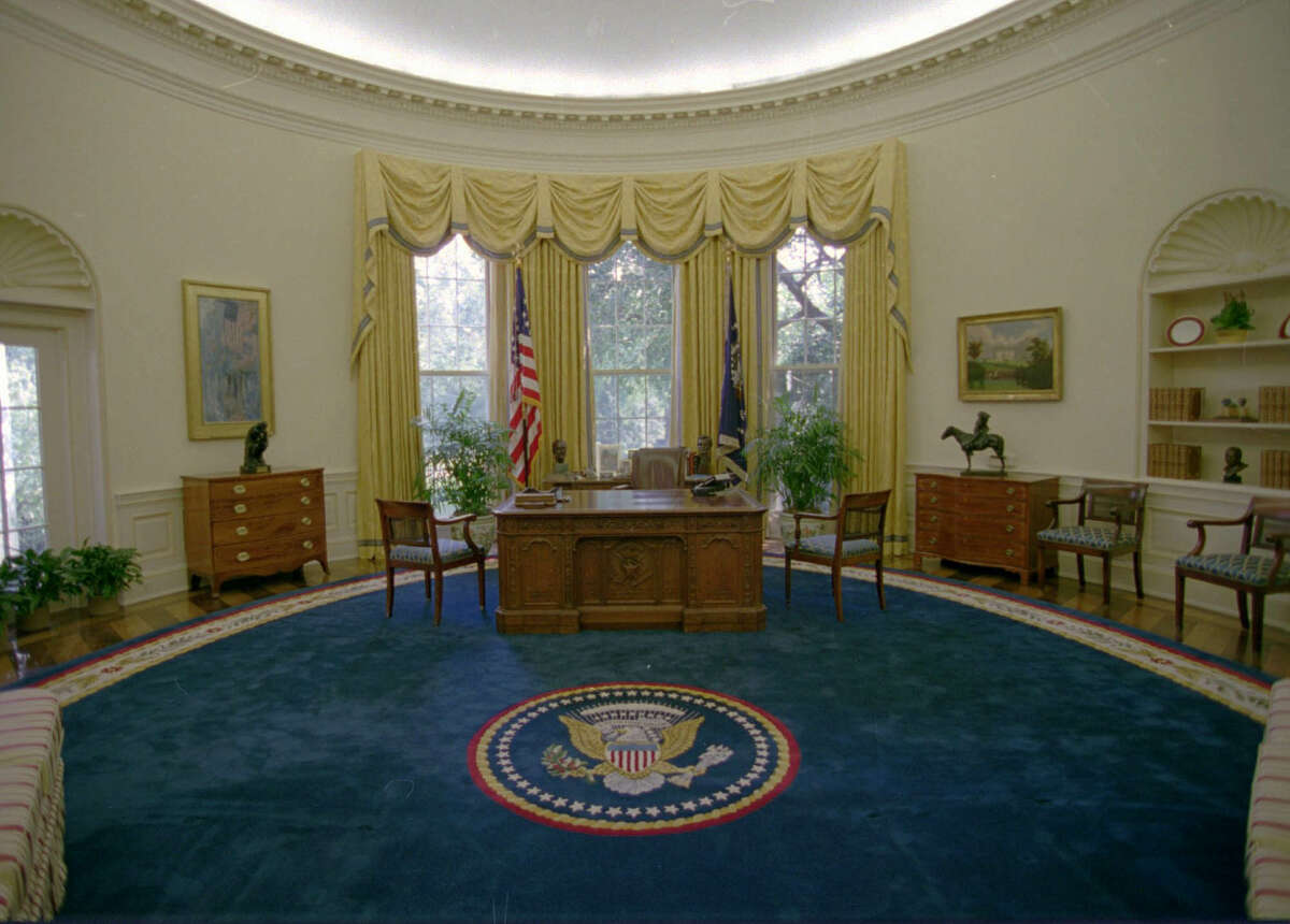 The Oval Office of the White House