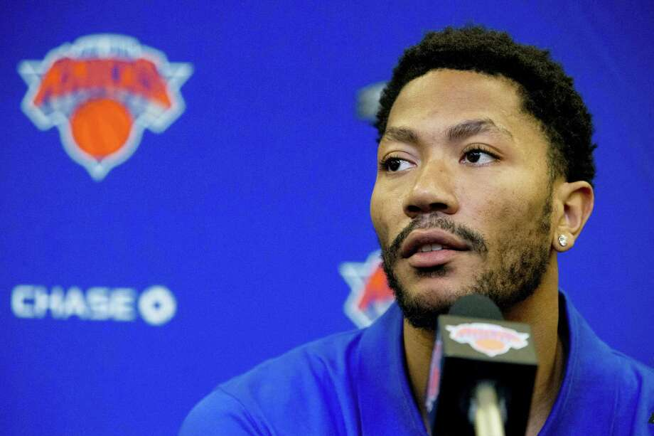 New York Knicks point guard Derrick Rose. Photo: The Associated Press File Photo  / Copyright 2016 The Associated Press. All rights reserved. This material may not be published, broadcast, rewritten or redistribu
