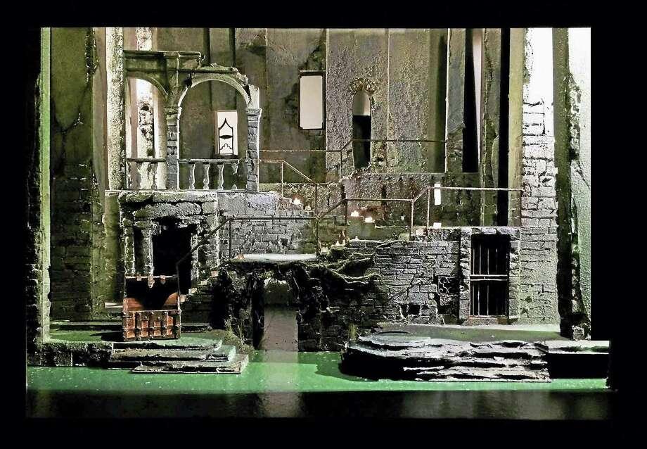 """The set of """"Cymbeline."""" Photo: Photo Courtesy Of Yale Rep"""