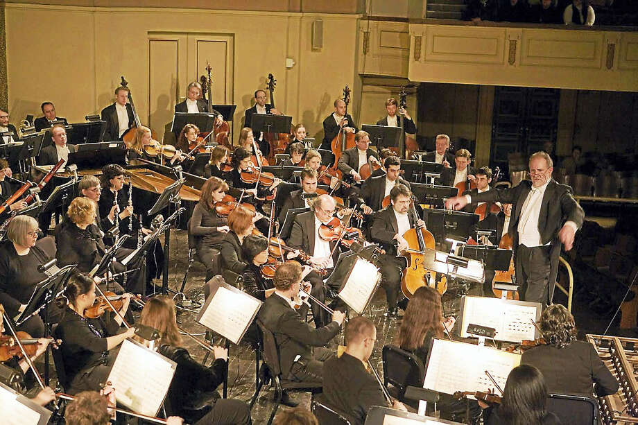 William Boughton conducts the New Haven Symphony Orchestra. Photo: Photo Courtesy Of NHSO  / Harold Shapiro '06