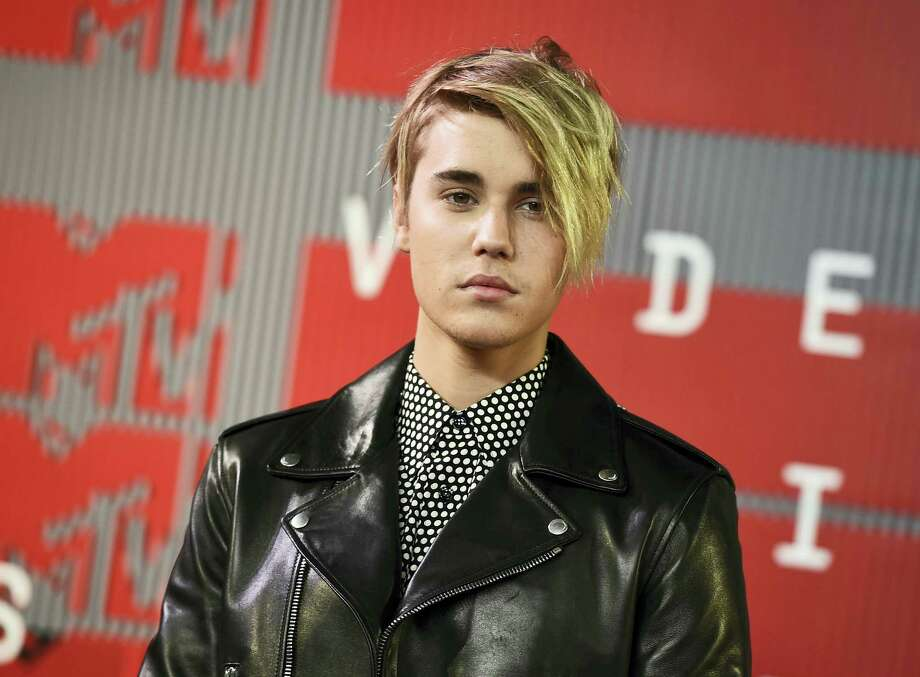 In this Aug. 30, 2015 photo, Justin Bieber arrives at the MTV Video Music Awards in Los Angeles. Photo: Photo By Jordan Strauss/Invision/AP, File  / Invision