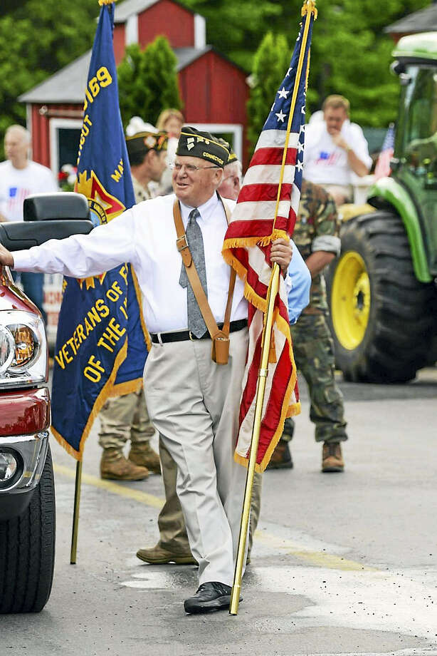 Durham VFW Quartermaster Bob Peterson is calling for area veterans to join the Durham parade on Monday. Photo: Courtesy Durham VFW