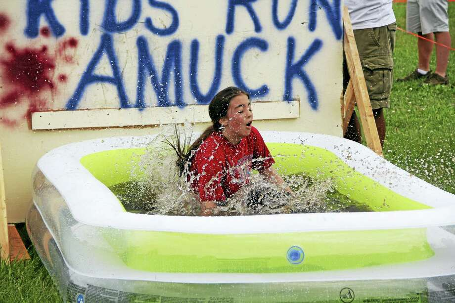 Last year's Kids Run Amuck included a wading pool. Photo: Contributed Photo