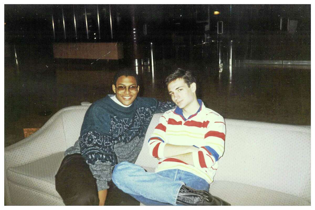 Ted Cruz David Panton, left, and Ted Cruz are shown as college students at Princeton, where the two were roommates and debate partners. 1992.