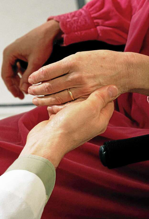 Nurse comforting patient Photo: File Photo / (c) Jupiterimages