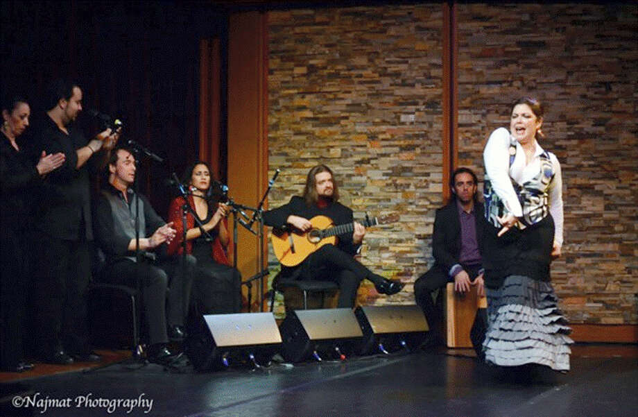 Contributed photo The acclaimed Boston-based Flamenco Dance Project Company will perform at the MHS Performing Arts Center, 200 LaRosa Drive, on Saturday, June 4, at 7:30 p.m. The show is presented by the Greater Middletown Concert Association.