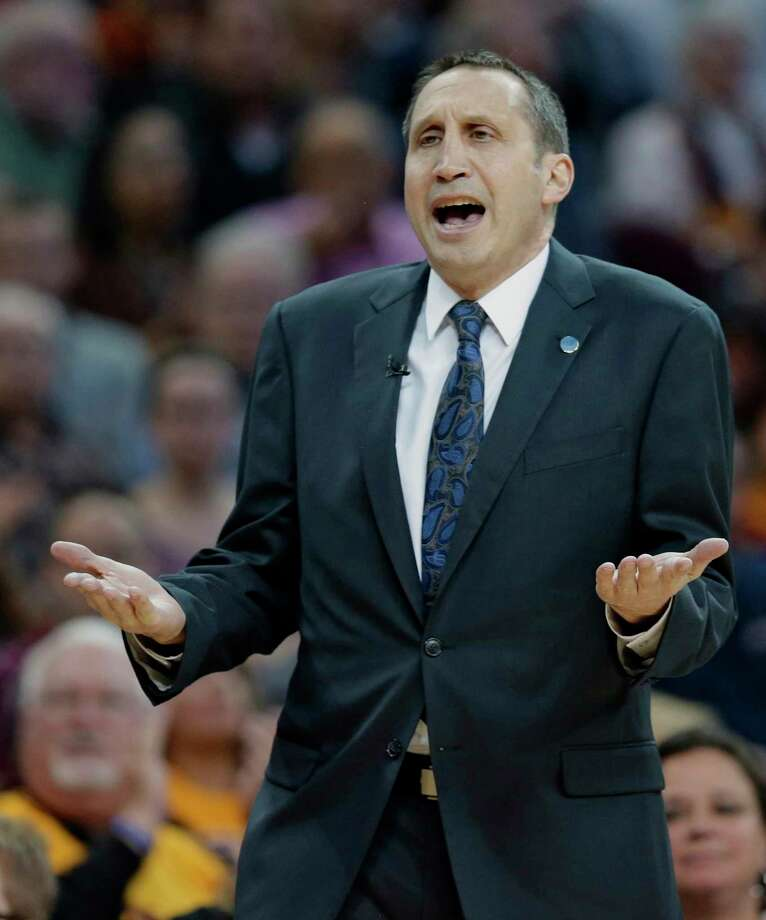 Coach David Blatt was fired by the Cavaliers on Friday. Photo: Tony Dejak — The Associated Press  / AP