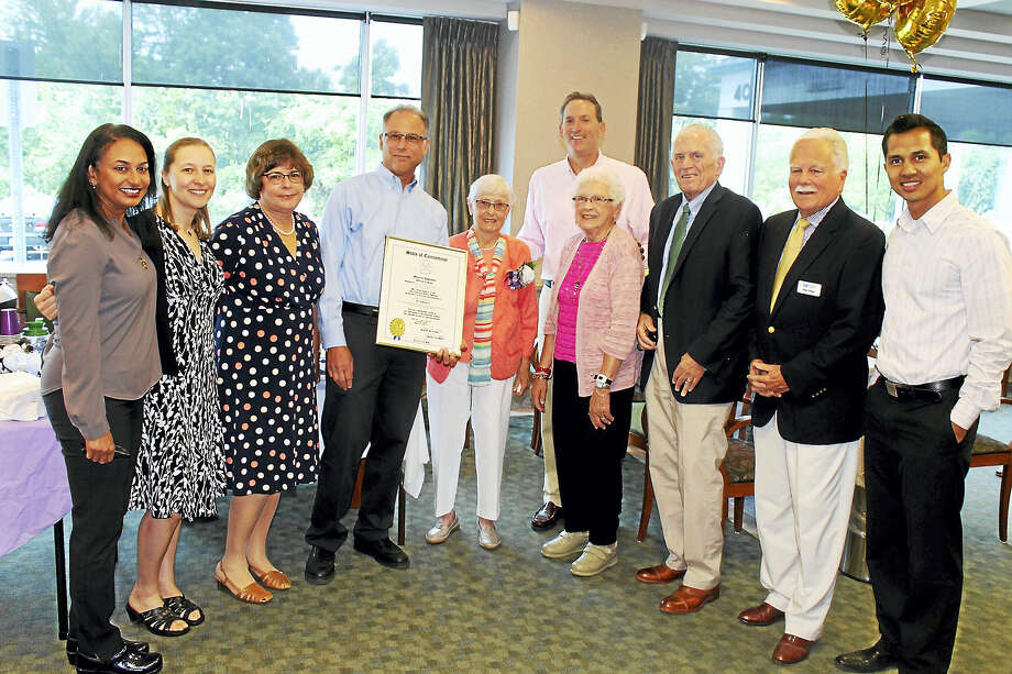 Middlesex Eye Physicians celebrated its 50th anniversary on July 11 and principals were presented an official citation from the Connecticut General Assembly. Founded in 1966 by Dr. Malcolm Gorin, the practice grew to become the largest ophthalmology practice in the Middletown area and provides state-of-the-art eye care to thousands of patients in the region. Photo: Contributed Photo