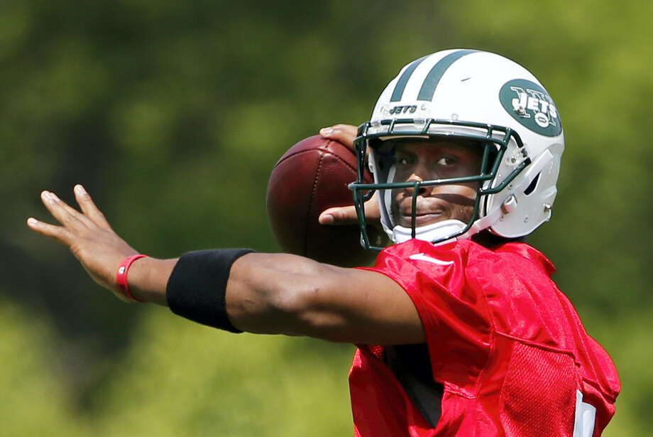 Geno Smith looked good during offseason workouts and minicamp, appearing to smoothly operate Chan Gailey's offense. Photo: The Associated Press File Photo  / Copyright 2016 The Associated Press. All rights reserved. This material may not be published, broadcast, rewritten or redistribu
