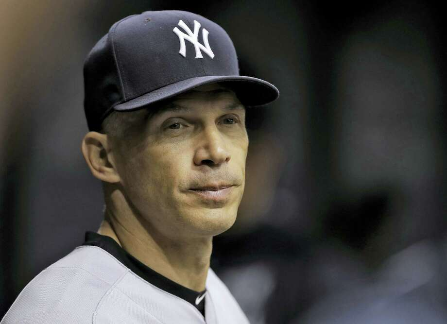 Yankees manager Joe Girardi. Photo: The Associated Press File Photo  / AP