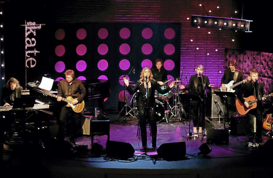 "Rita Wilson, center, and her six-person band headline the last episode of Season 1 of ""The Kate."" Photo: Melanie Stengel Photo"