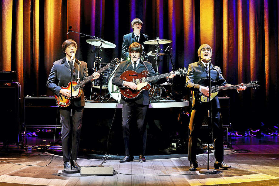 Photo by Paul ColtasLet It Be, an award-winning Beatles Tribute Show, will be performed at the Palace Theater in Waterbury in April. Photo: Journal Register Co.