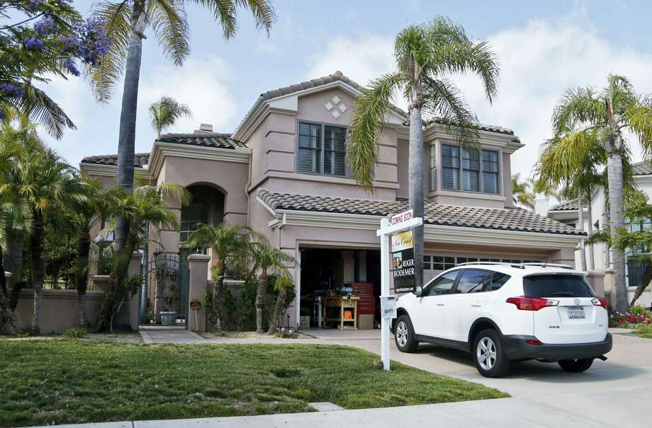 A home for sale in Carlsbad, Calif. Photo: Lenny Ignelzi — The Associated Press File Photo  / Copyright 2016 The Associated Press. All rights reserved. This material may not be published, broadcast, rewritten or redistribu