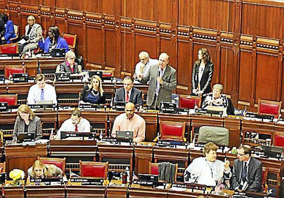 State Rep. Stephen Dargan, D-West Haven, debates a bill Photo: CTNewsJunkie File Photo