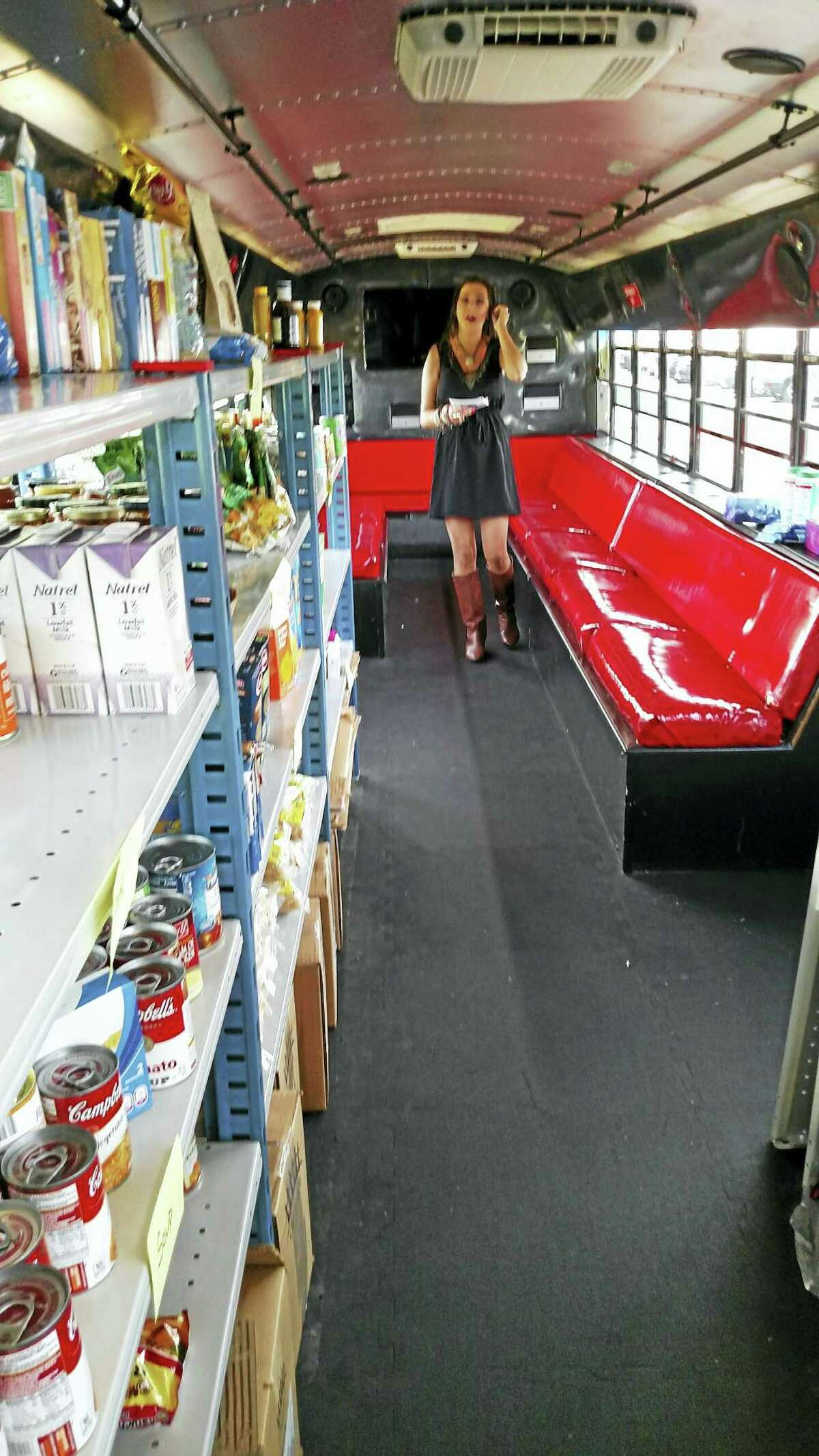 The mobile food pantry seeks to help alleviate the challenge of food insecurity faced by Middlesex Community College students in Middletown.