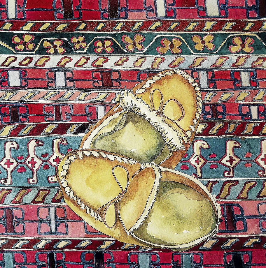 Contributed photoAmerican Slippers in Turkey - Van Nes Photo: Journal Register Co.