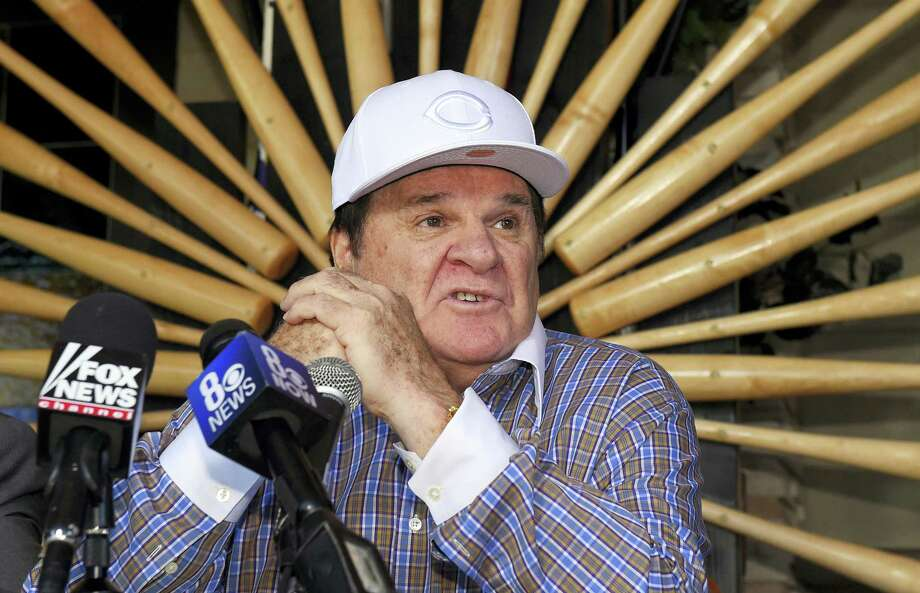 In this Dec. 15, 2015 photo, former baseball player and manager Pete Rose speaks at a news conference in Las Vegas. Rose is headed into the team hall of fame in his hometown, the Cincinnati Reds said on Jan. 19, 2016. The team's announcement came after MLB commissioner Rob Manfred last month rejected Rose's application for reinstatement. Photo: AP Photo/Mark J. Terrill, File  / AP
