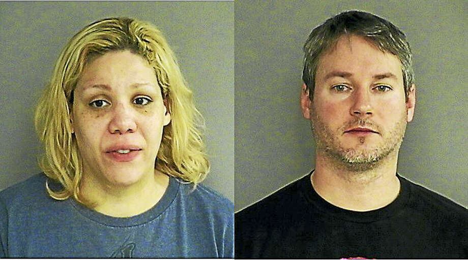 Nicole Glaser and Matthew Glaser Photo: Courtesy Middletown Police