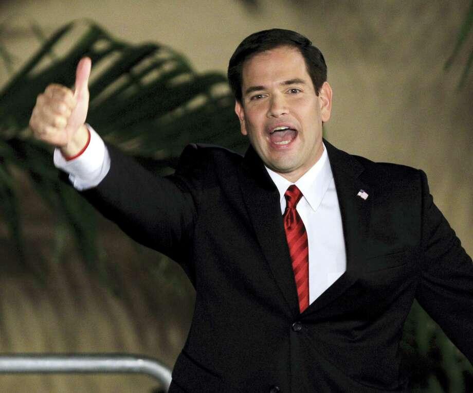 Sen. Marco Rubio, R-Fla. Photo: FILE Photo  / AP