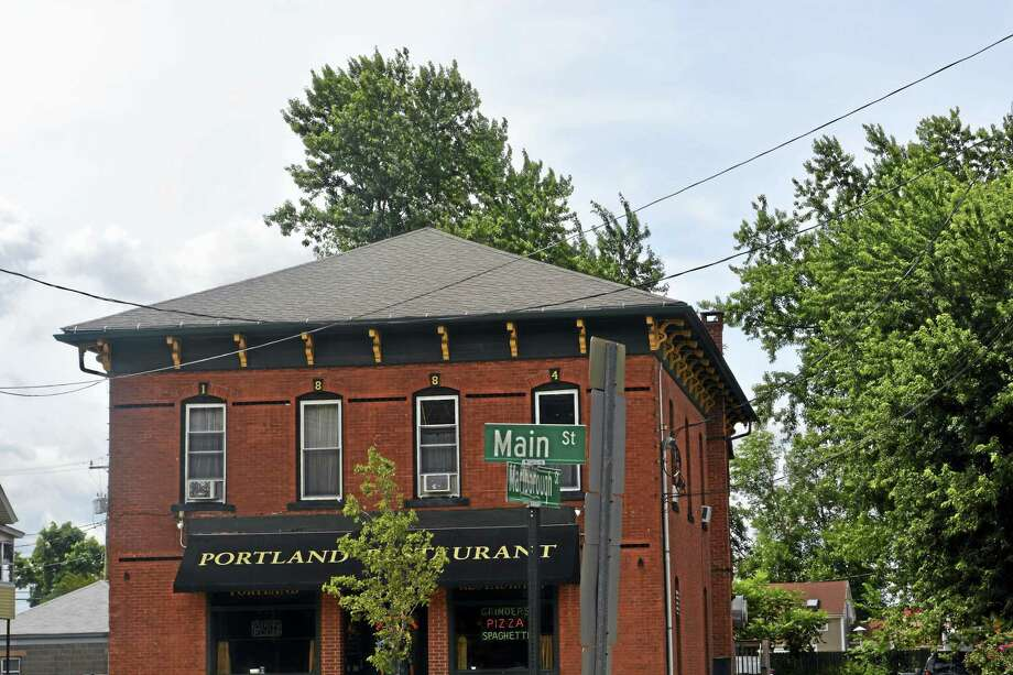 Cassandra Day - The Middletown Press Main Street in Portland, sign, logo Photo: File Photo