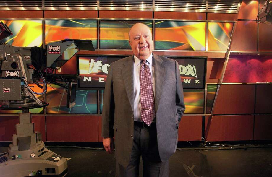 Fox News CEO Roger Ailes poses at Fox News in New York. 21st Century Fox says Ailes is resigning. The announcement comes amid charges by former anchor Gretchen Carlson, who claims she was fired after refusing his sexual advances. Photo: AP Photo — Jim Cooper, File / AP2006