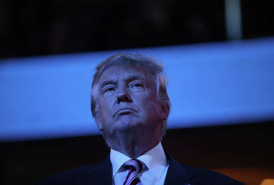 Donald Trump, 2016 Republican presidential nominee, at the Republican National Convention in Cleveland. Photo: Bloomberg Photo By Victor J. Blue / © 2016 Bloomberg Finance LP