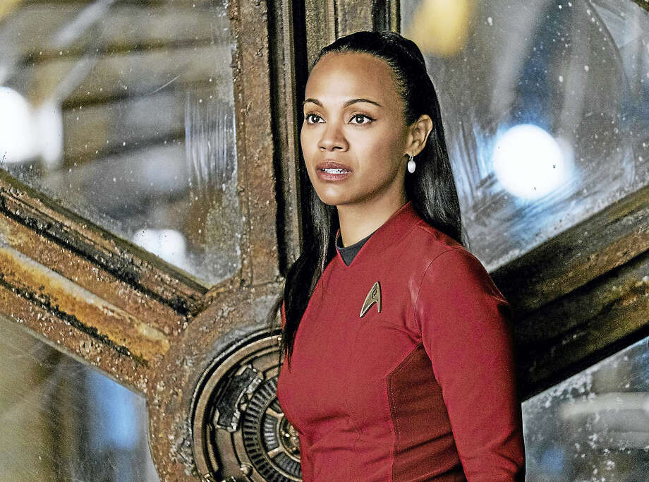 """Zoe Saldana plays Uhura in """"Star Trek Beyond."""" Photo: Photo By Kimberley French—Paramount Pictures  / © 2016 Paramount Pictures. All Rights Reserved. STAR TREK and all related marks and logos are trademarks of CBS Studios, Inc."""