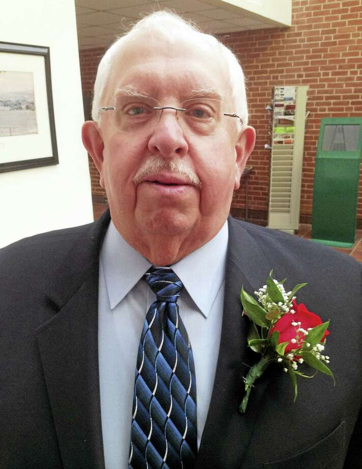 Allan D. Spotts is Cromwell Man of the Year Photo: Jeff Mill — The Middletown Press