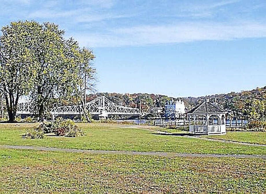 Courtesy DEEPEagle Landing State Park in Haddam overlooks the Connecticut River and the East Haddam Swing Bridge. Photo: Journal Register Co.