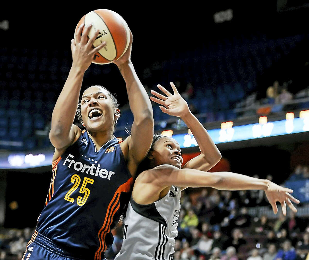 Alyssa Thomas has been the leading rebounder for the Connecticut Sun this season.