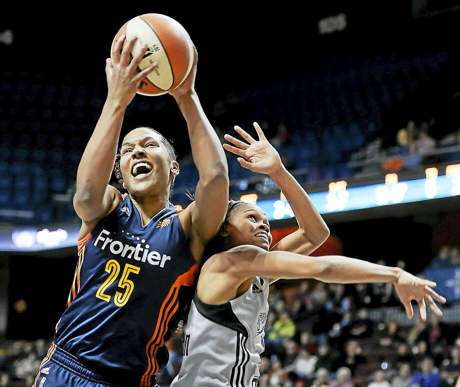 Alyssa Thomas has been the leading rebounder for the Connecticut Sun this season. Photo: Jessica Hill — The Associated Press  / AP2016