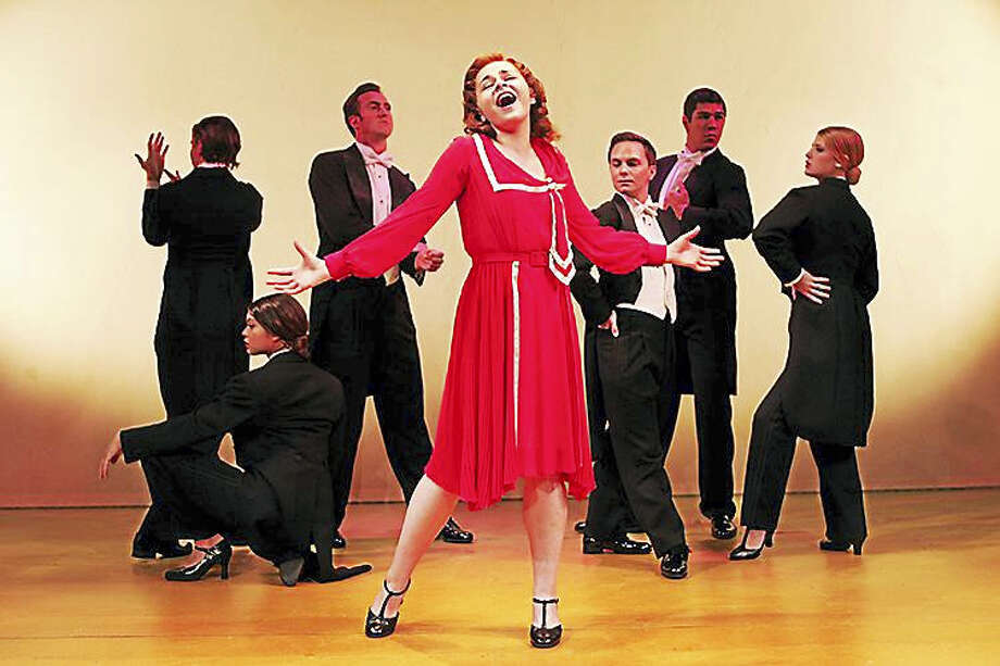 "Photos by Diane Sobolewski Ruby Ratos is Judy Garland in Goodspeed's ""Chasing Rainbows,"" which tells the story of Garland's early career. Photo: Journal Register Co."