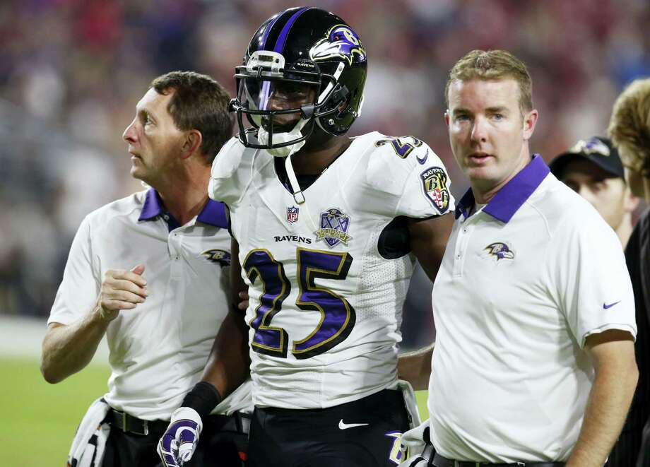 Baltimore Ravens cornerback Tray Walker (25) died Friday of injuries he sustained in a dirt bike crash in Miami. Photo: The Associated Press File Photo  / FR157181 AP