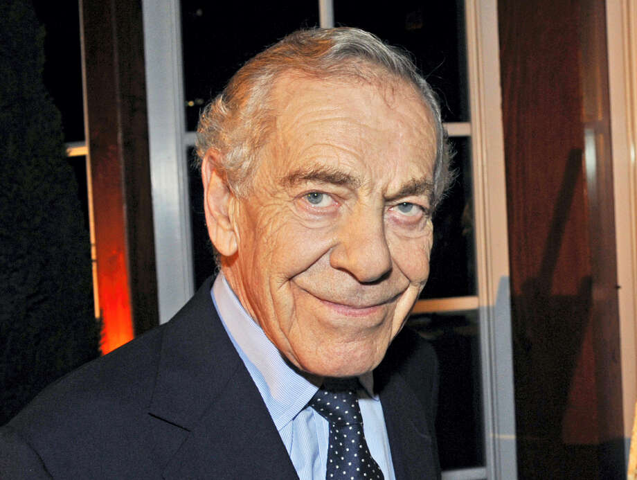"This Oct. 6, 2008, photo released by CBS shows ""60 Minutes"" correspondent Morley Safer during the program's 40th anniversary celebration in New York. Safer, the veteran ""60 Minutes"" correspondent who exposed a military atrocity in Vietnam that played an early role in changing Americans' view of the war, died Thursday, May 19, 2016. He was 84. Photo: John Paul Filo/CBS Via AP   / CBS NEWS"