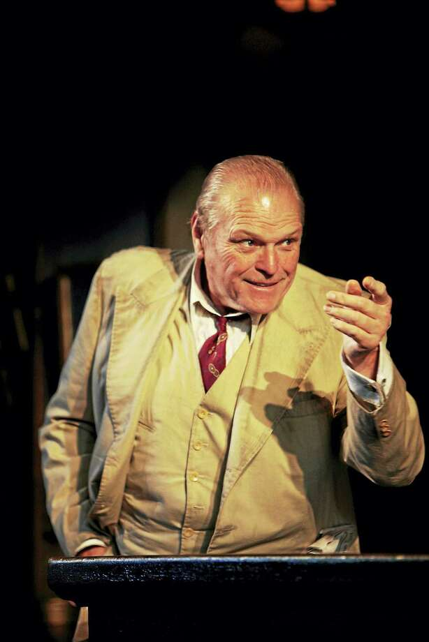"Brian Dennehy in ""Hughie"" at Long Wharf in 2008. Photo: Photo Courtesy Of T. Charles Erickson — Long Wharf  / ? T Charles Erickson"