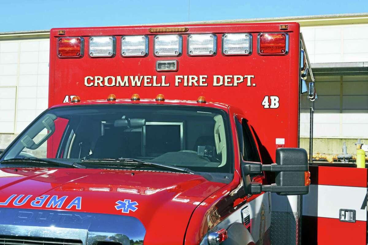 Cassandra Day - The Middletown Press Cromwell Fire Department truck EMS