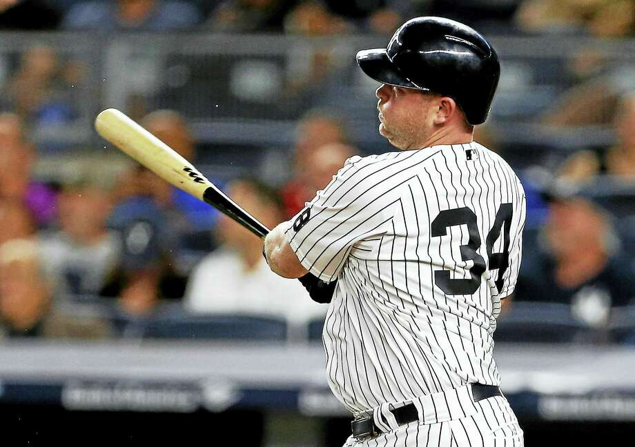 The Yankees traded Brian McCann to the Astros on Thursday. Photo: The Associated Press File Photo   / FR110666 AP