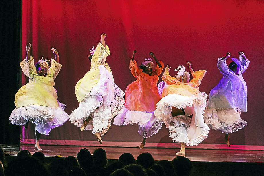 "Lucy Guiliano photo The Hartford-based troupe led by artistic director Stephen Hankey performed ""Celebration"" last month for Artists for World Peace at the Katharine Hepburn Cultural Arts Center in Old Saybrook. Photo: Journal Register Co."