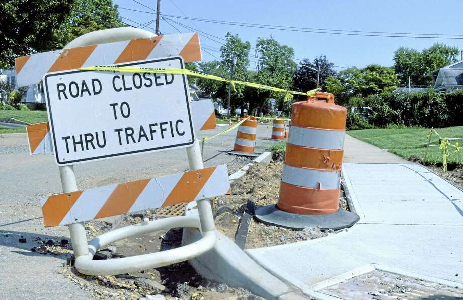 Crews will be out on the roads conducting routine road work from East Main Street through Saybrook Road, down Main Street and all the way to Grand Street in the North End through next week. Photo: File Photo