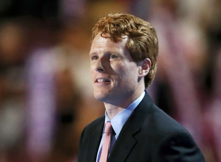 "In this July 25, 2016 photo, Rep. Joe Kennedy, D-Mass., speaks during the first day of the Democratic National Convention in Philadelphia. Legislation in Congress would ensure that customers who want to post negative reviews on websites like Yelp or TripAdvisor can do so without legal repercussions. ""A lot of Americans, particularly in my generation, use those reviews,"" says Kennedy. Photo: AP Photo/Paul Sancya  / Copyright 2016 The Associated Press. All rights reserved. This material may not be published, broadcast, rewritten or redistribu"