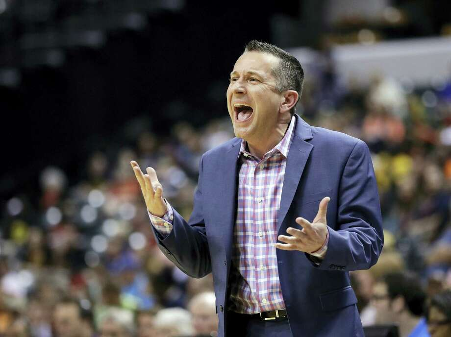 Connecticut Sun head coach Curt Miller. Photo: The Associated Press File Photo  / Copyright 2016 The Associated Press. All rights reserved. This material may not be published, broadcast, rewritten or redistribu