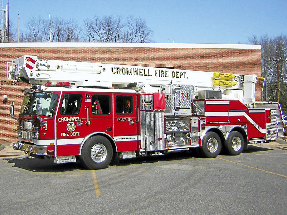 Cromwell Fire Department Photo: Courtesy Photo