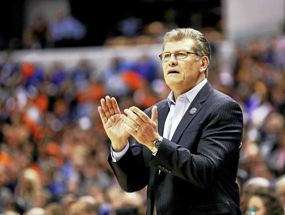 UConn head coach Geno Auriemma. Photo: The Associated Press File Photo  / FR123854 AP