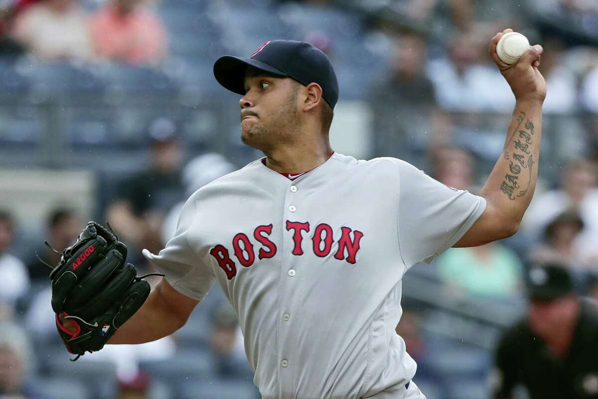 Eduardo Rodriguez allowed just one run over seven innings in Saturday's win.