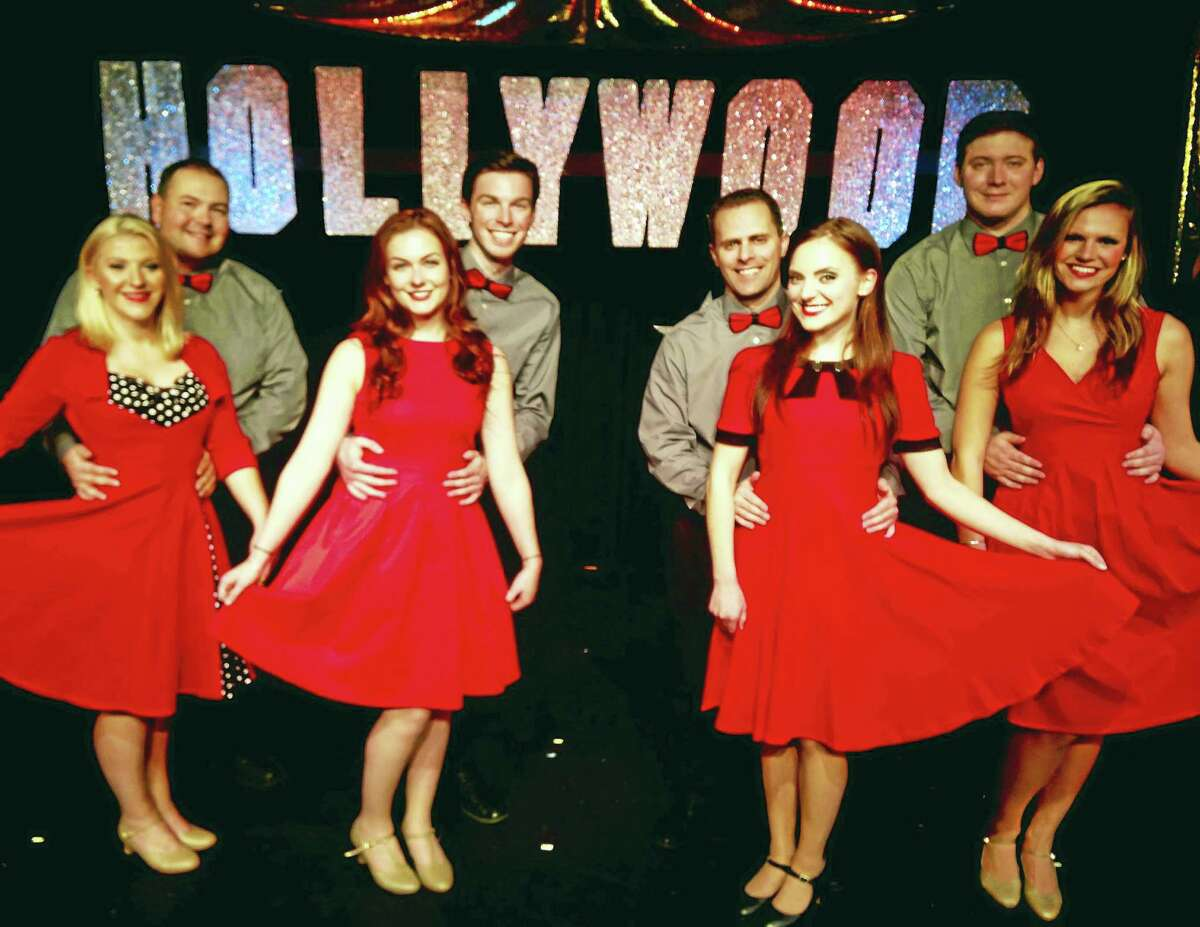 Contributed photo The cast of Babes in Hollywood are ready to entertain audiences at the Connecticut Cabaret Theater in Berlin. The cast includes Jayson Beaulieu, Kate Bogue, Jordan DuVall, Abby Mae Erwin, Anthony Galli, Alexis Kurtz, Aidan Laliberte and Mary Tourigny.