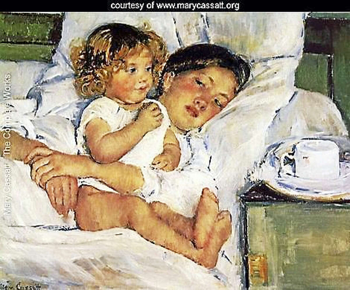 Contributed photoBreakfast in Bed, by Mary Cassatt.
