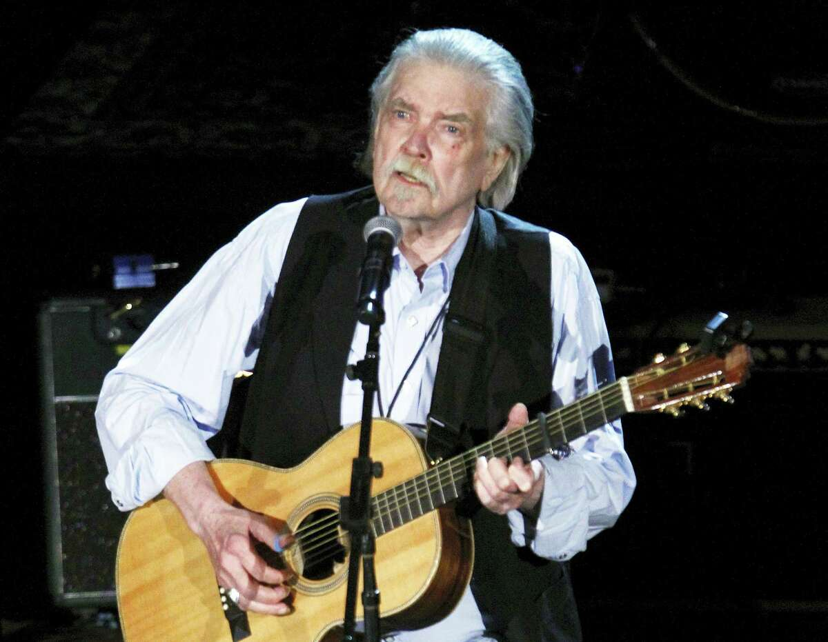 This Sept. 12, 2012, file photo shows Guy Clark at the 11th annual Americana Honors & Awards in Nashville, Tenn. Clark, died Tuesday, May 17, 2016, at his home in Nashville. He was 74 and had been in poor health, although his manager, Keith Case, did not give an official cause of death.